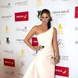 Claudia Osborne en la alfombra roja de los Global Gift 2015