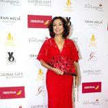 Isabel Gemio en la alfombra roja de los Global Gift 2015