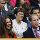 El Príncipe Guillermo y Kate Middleton en Wimbledon 2015
