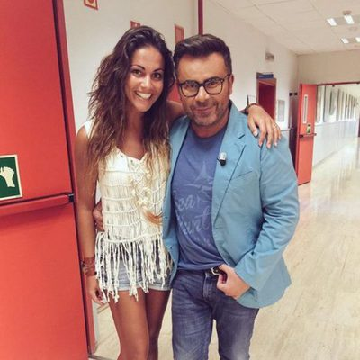 Lara Álvarez se reencuentra con Jorge Javier Vázquez a su vuelta de Honduras