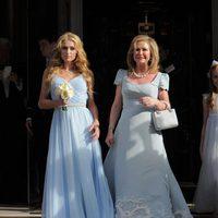 Paris Hilton y Kathy Hilton ideales en la boda de su hermana Nicky Hilton