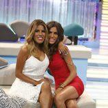 Suhaila y Chabelita en la gala final de 'Supervivientes 2015'