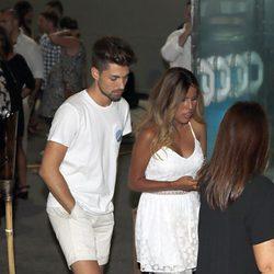 Chabelita con su novio Alejandro Albalá en la final de 'Supervivientes 2015'