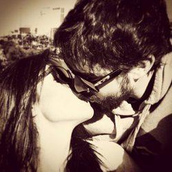 Fernando Alonso y Lara Álvarez se reencuentran tras 'Supervivientes 2015'