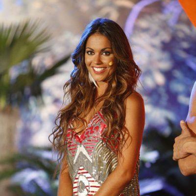 Lara Álvarez en la gala final de 'Supervivientes 2015'