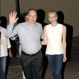 Alberto y Charlene de Mónaco en la celebración de los 10 años de reinado del Príncipe de Mónaco