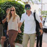 Antonio Banderas y Nicole Kimpel llegan a Ischia para acudir al festival de cine de la isla