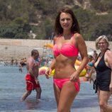 Paula Echevarría luce cuerpo en bikini de vacaciones en Ibiza