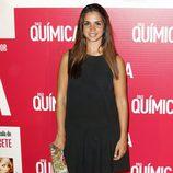 Elena Furiase en el estreno de 'Solo Química'