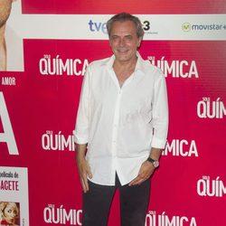José Coronado en el estreno de 'Solo Química'