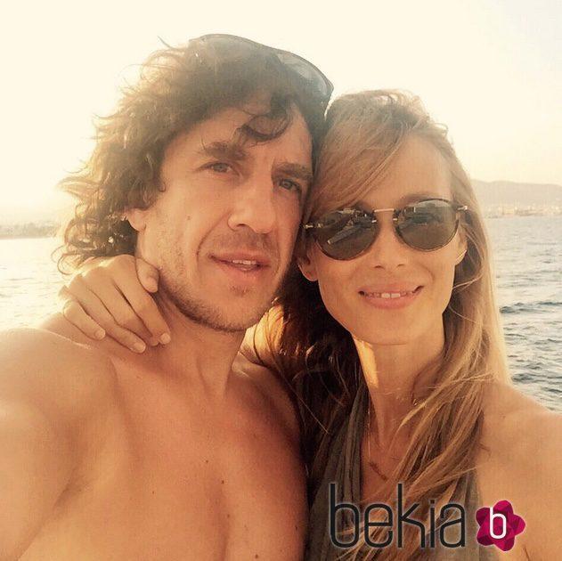 Carles Puyol y Vanesa Lorenzo anuncian que su segundo hijo será otra niña