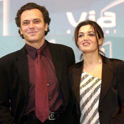 José Coronado y Mónica Molina en los Goya 2002