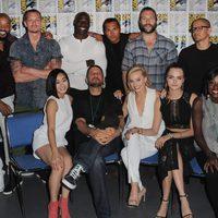 Elenco 'Escuadrón Suicida' en la Comic-Con