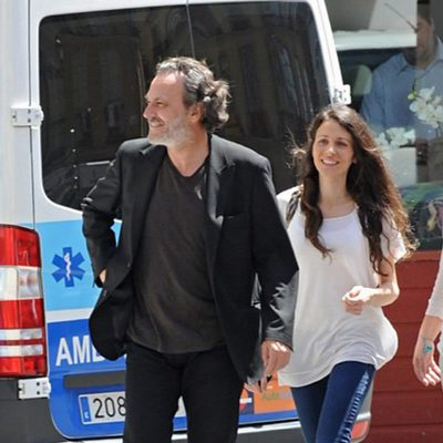 José Coronado y Elena González de Prado por las calles de Málaga