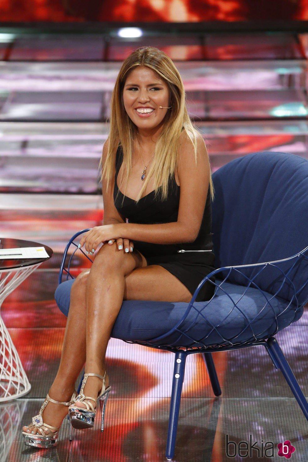 Chabelita Pantoja en el debate final de 'Supevivientes 2015'