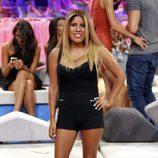 Chabelita Pantoja durante el debate final de 'Supevivientes 2015'