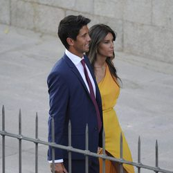 Ana Boyer y Fernando Verdasco en la boda de Alba Carrillo y Feliciano López