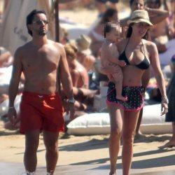 Tamara Ecclestone y su familia en Mykonos