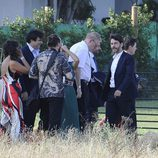 Eduardo Noriega en la boda de Alejandro Amenábar y David Blanco