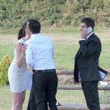 Alejandro Amenábar y su novio David Blanco en su boda