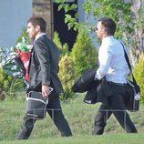 Alejandro Amenábar y David Blanco en su boda