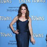 Cara Buono en la premiere de 'Ciudades de Papel' en Nueva York