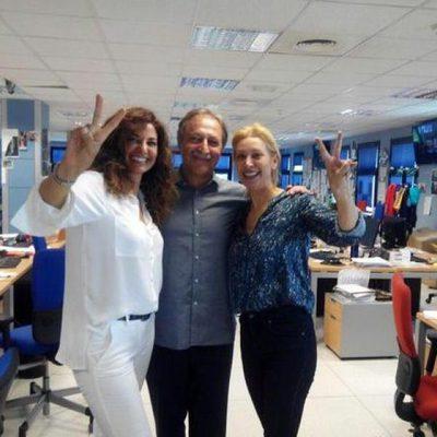 Mariló Montero, Teresa Viejo y Paco Lobatón en 'La Mañana de La 1'