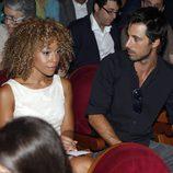 Hugo Silva y Mary Ruiz en el concierto de Raphael en Madrid