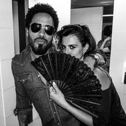 Penélope Cruz y Lenny Kravitz en el Startlite de Marbella