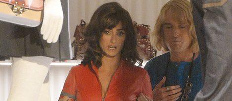 Penélope Cruz, una sexy motorista en el set de rodaje de 'Zoolander 2' en Roma