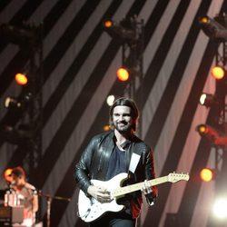 Juanes durante su concierto en el Teatro Real de Madrid