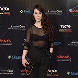 Sara Vega en el concierto de Juanes en Madrid