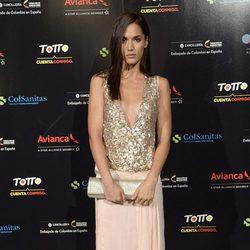 Michelle Calvó en el concierto de Juanes en Madrid