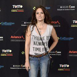María Botto en el concierto de Juanes en Madrid