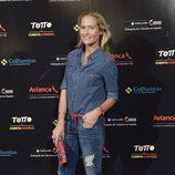 Fiona Ferrer en el concierto de Juanes en Madrid
