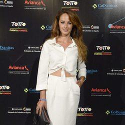 Mónica Estarreado en el concierto de Juanes en Madrid