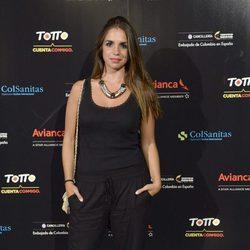 Elena Furiase en el concierto de Juanes en Madrid