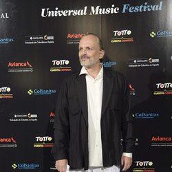 Miguel Bosé en el concierto de Juanes en Madrid