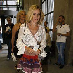 Eugenia Martínez de Irujo en el concierto de Juanes en Madrid
