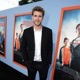 Liam Hemsworth en el estreno de 'Vacation' en Los Angeles