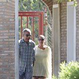 Isabel Pantoja saliendo de Alcalá de Guadaíra en su segundo permiso carcelario