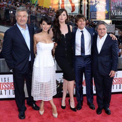 Ireland Baldwin reaparece junto a familia y amigos en la premiere de 'Misión Imposible'