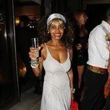 Regina Do Santos en la fiesta del 45 cumpleaños de Nacho Montes