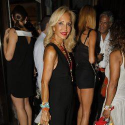 Carmen Lomana en la fiesta del 45 cumpleaños de Nacho Montes