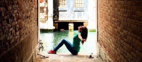 Natalia Sánchez disfrutando del verano en Venecia