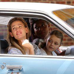 Jennifer Garner de rodaje junto a su hija Seraphina y Queen Latifah