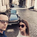 Risto Mejide y Laura Escanes en Roma