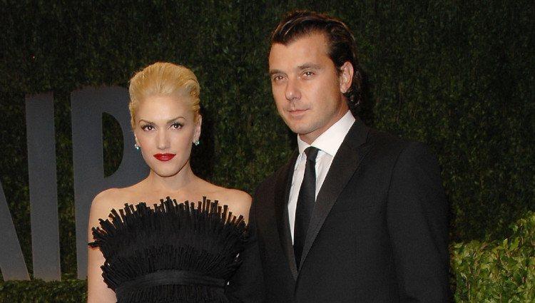 Gwen Stefani y Gavin Rossdale en la fiesta de Vanity Fair