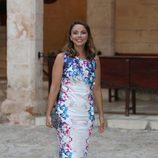 Chenoa en la recepción a las autoridades y la sociedad balear en Mallorca