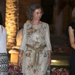 La Reina Sofía en la recepción a las autoridades y la sociedad balear en Mallorca